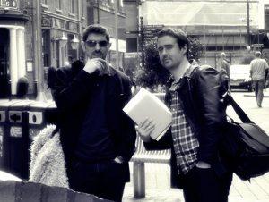 Audio Drama Writers Robert and Jack